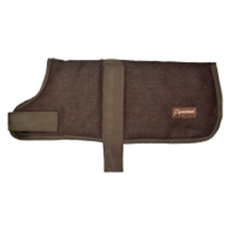 ABO Gear Chocolate Brown Wool Dog Coat