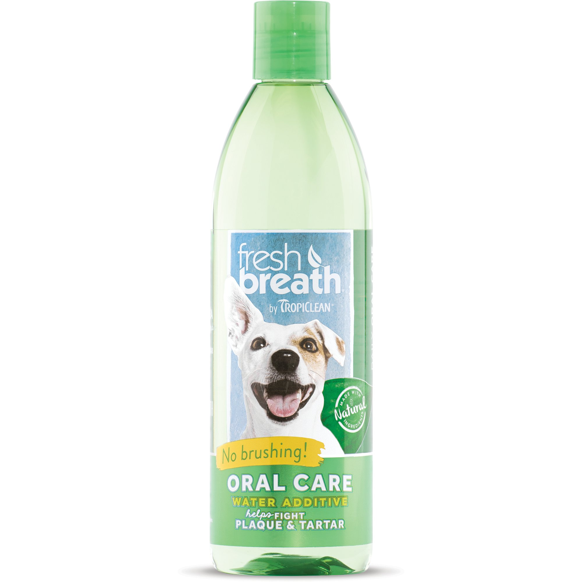 Tropiclean fresh breath oral care water additive for dogs for Dog dental water additive