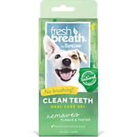 TropiClean Fresh Breath Clean Teeth Gel for Dogs