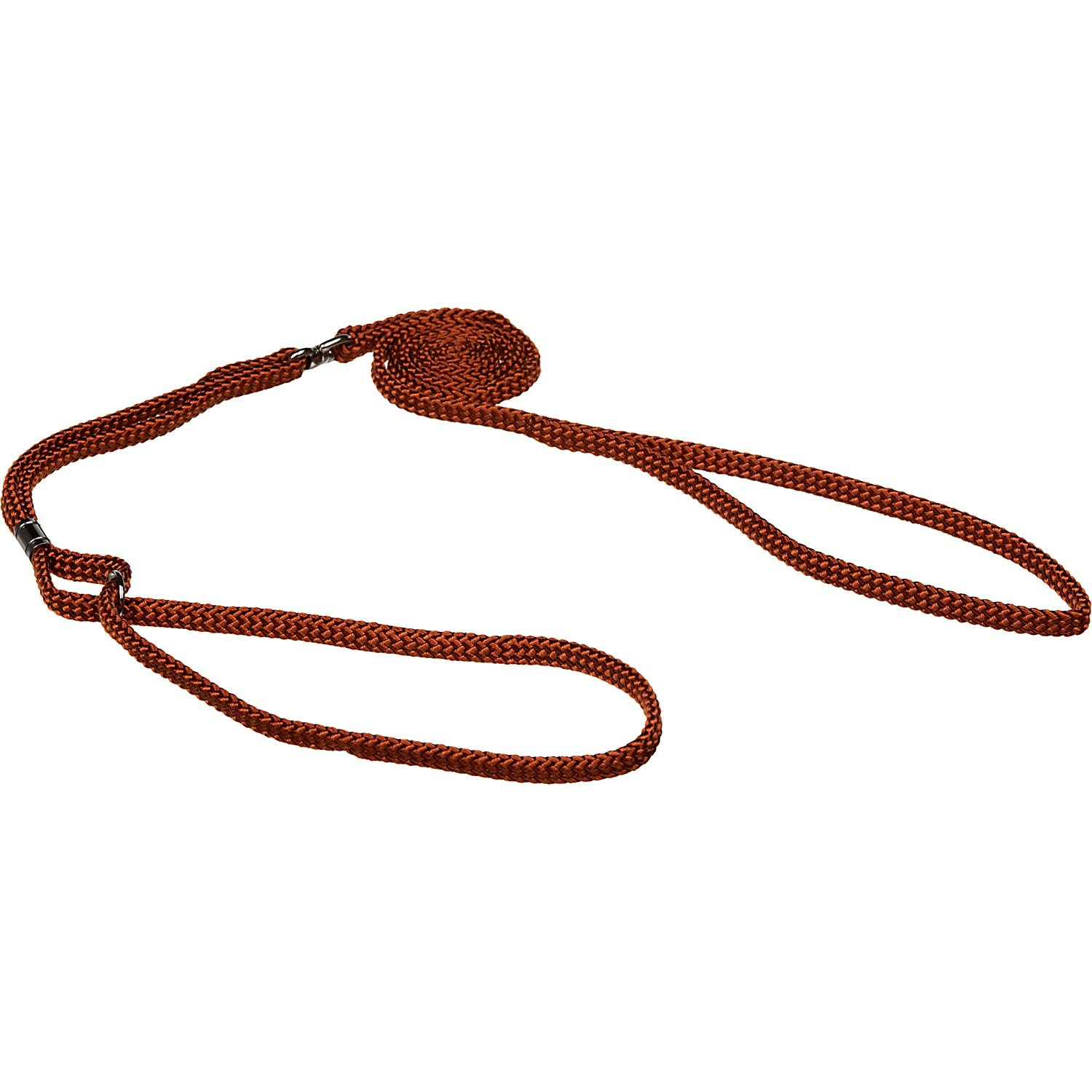 Coastal Pet Braided Brown Show Lead for Dogs