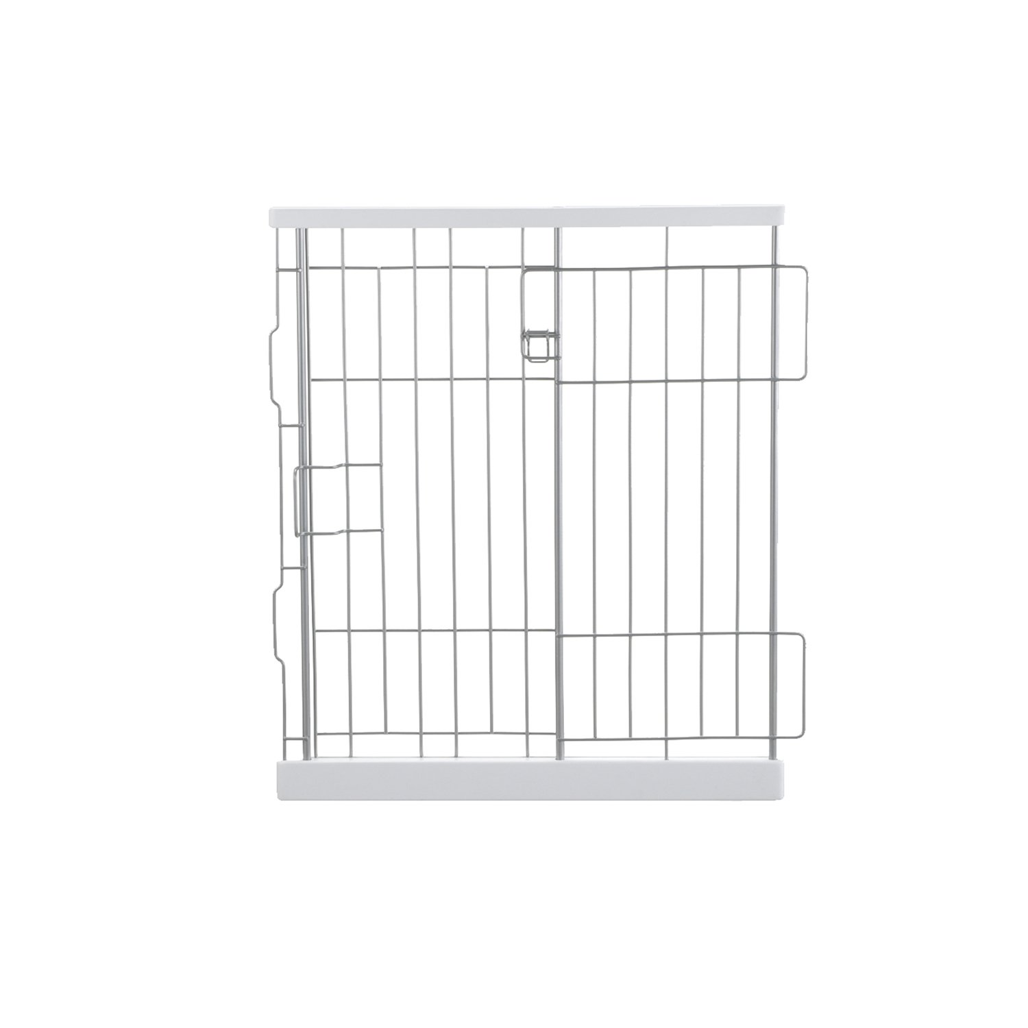 Richell Expandable Pet Pen Divider Panel in Origami White
