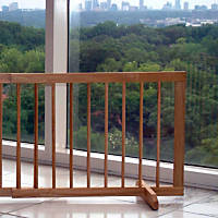 Cardinal Gates Medium Oak Step-Over Pet Gate Extension