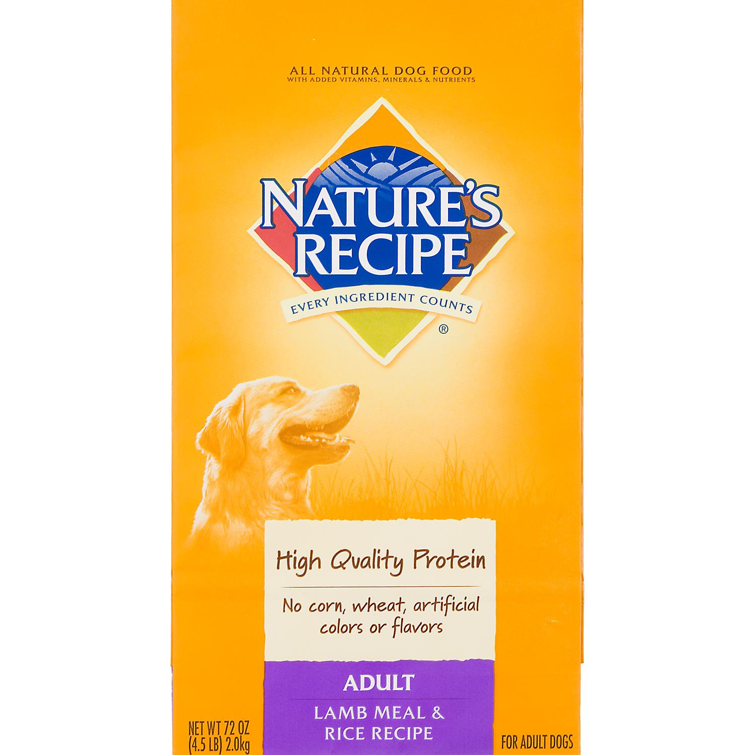 Nature's Recipe Lamb Meal & Rice Adult Dog Food