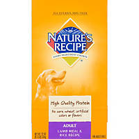 Nature's Recipe Lamb Meal & Rice Adult Dog Food
