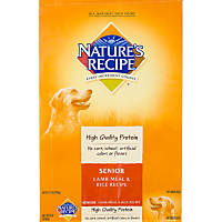 Nature's Recipe Senior Lamb & Rice Formula Dog Food