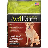 AvoDerm Natural Lamb Meal & Brown Rice Adult Dog Food