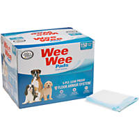 Wee-Wee Puppy Pads, 150 count.