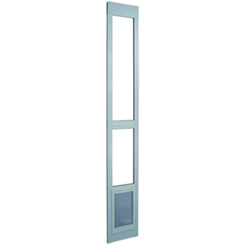 Perfect Pet Modular Patio Panel Pet Door in White