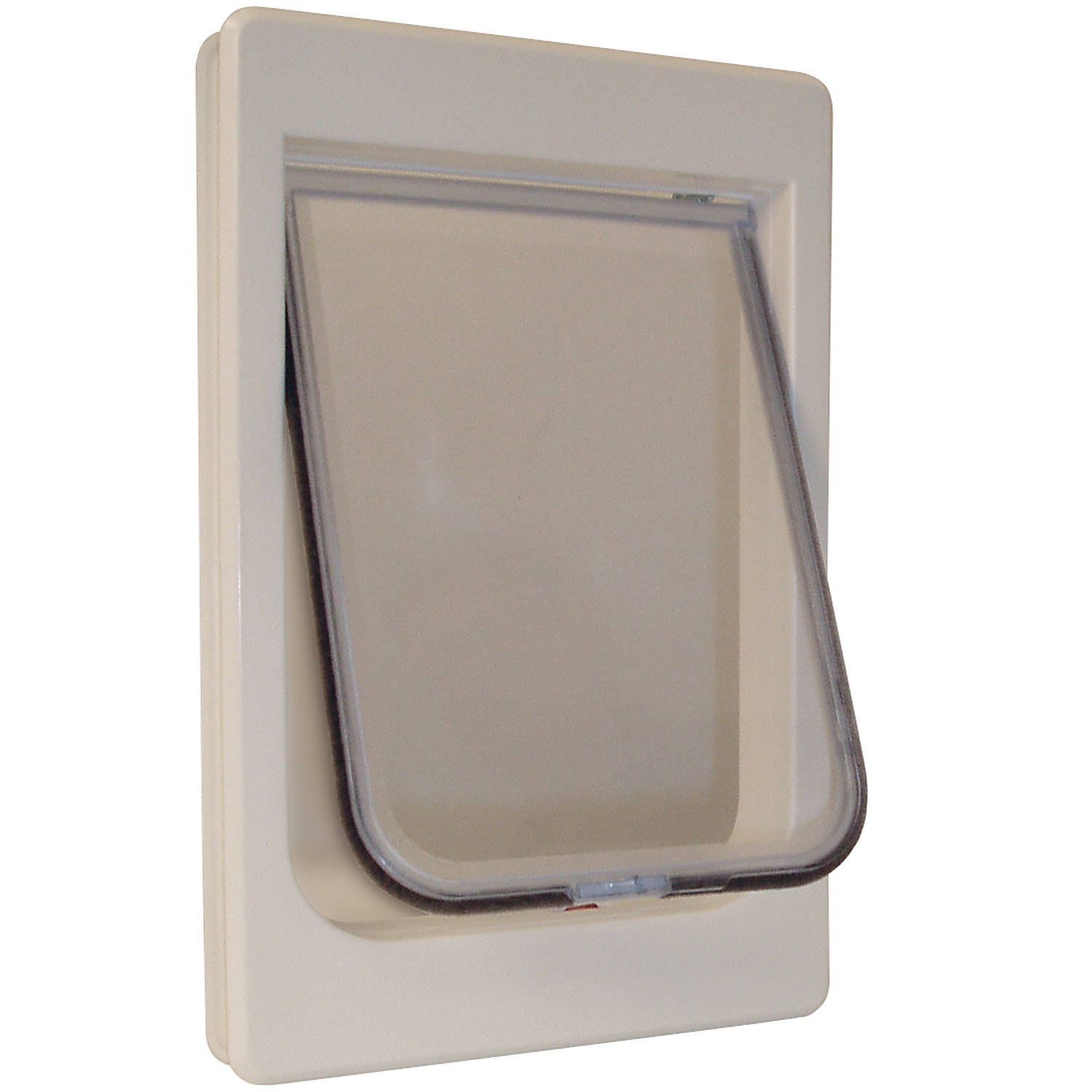 """Perfect Pet Tubby-Kat Cat Door (Flap Opening: 7.5"""""""" W X 10.5"""""""" H; Fits Door Thickness 1.25""""""""-1.75""""""""; For Cats up to 25 lbs.)"""