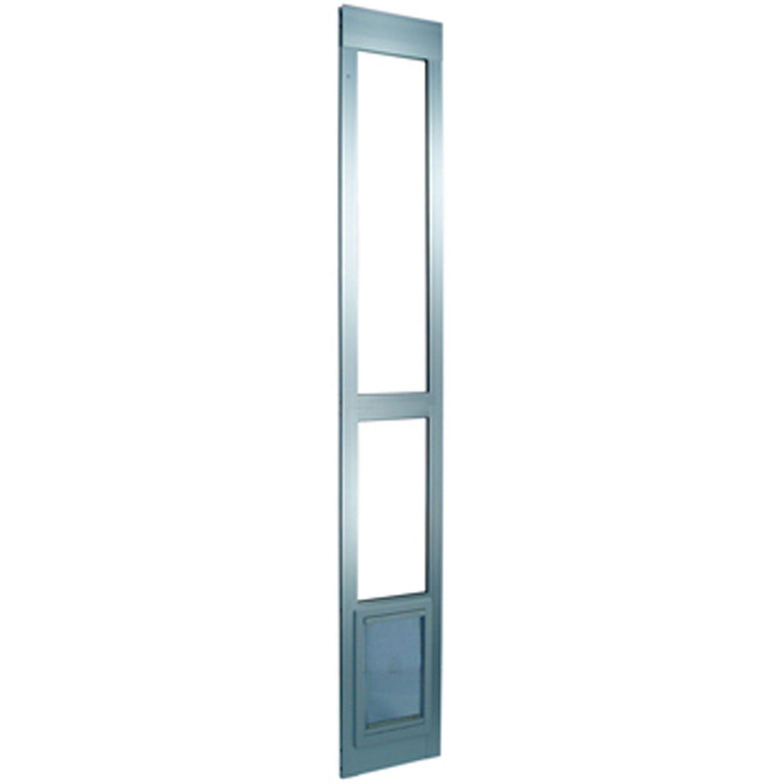 Perfect Pet Modular Patio Panel Pet Door in Mill