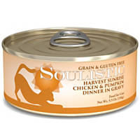 Soulistic Harvest Sunrise Chicken & Pumpkin Dinner Adult Canned Cat Food in Gravy