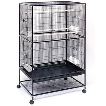 Prevue Hendryx Large Black Flight Bird Cage