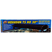 Zoo Med AquaSun T-5 HO Double Light Linear Fluorescent Hood, 30' Length