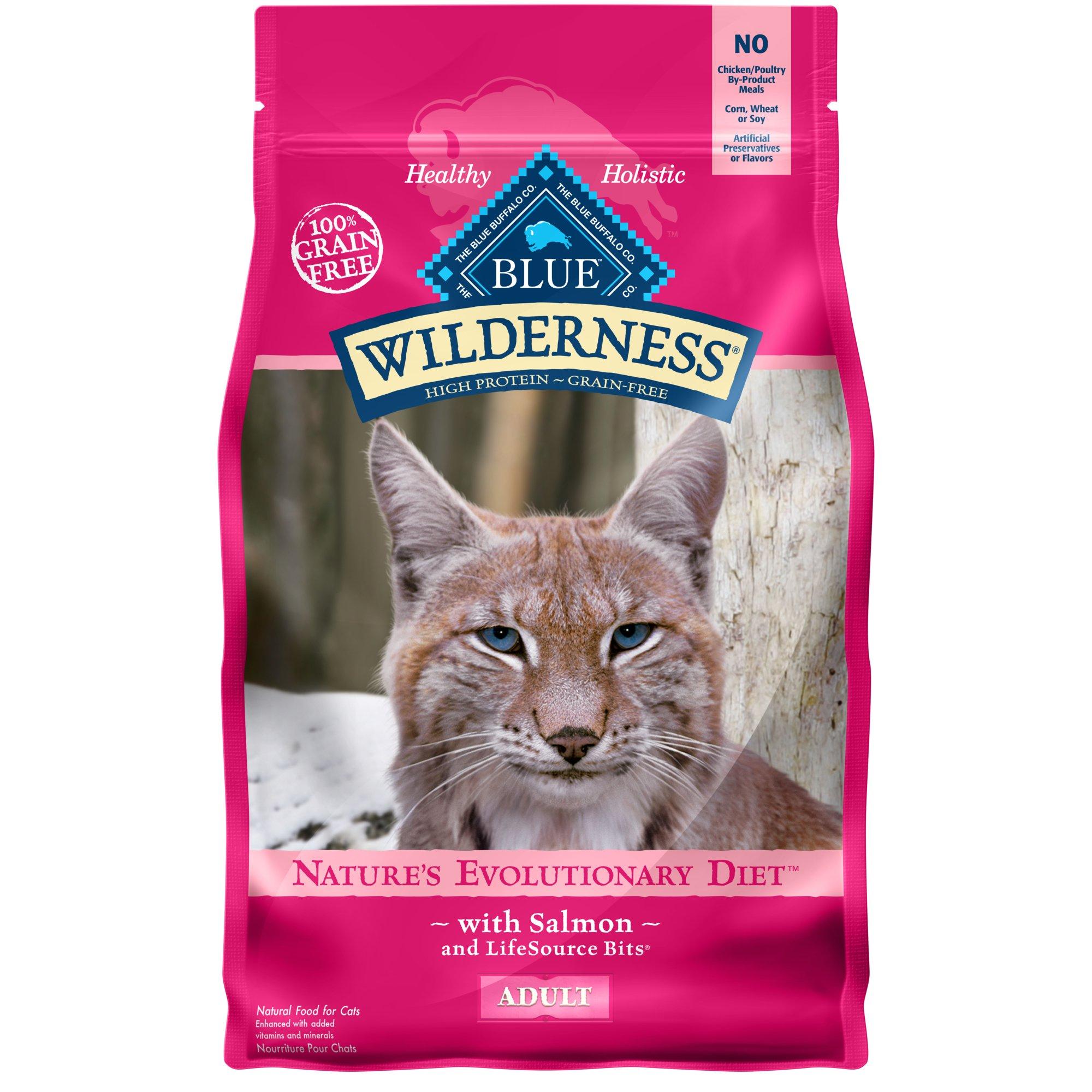 Blue Buffalo Wilderness Salmon Adult Dry Cat Food