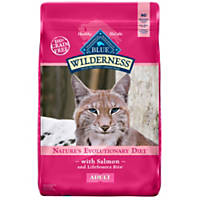 Blue Buffalo Wilderness Salmon Adult Dry Cat Food