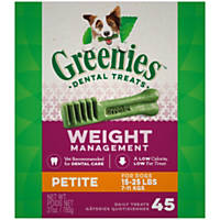 Greenies Weight Management Petite Dental Dog Treats