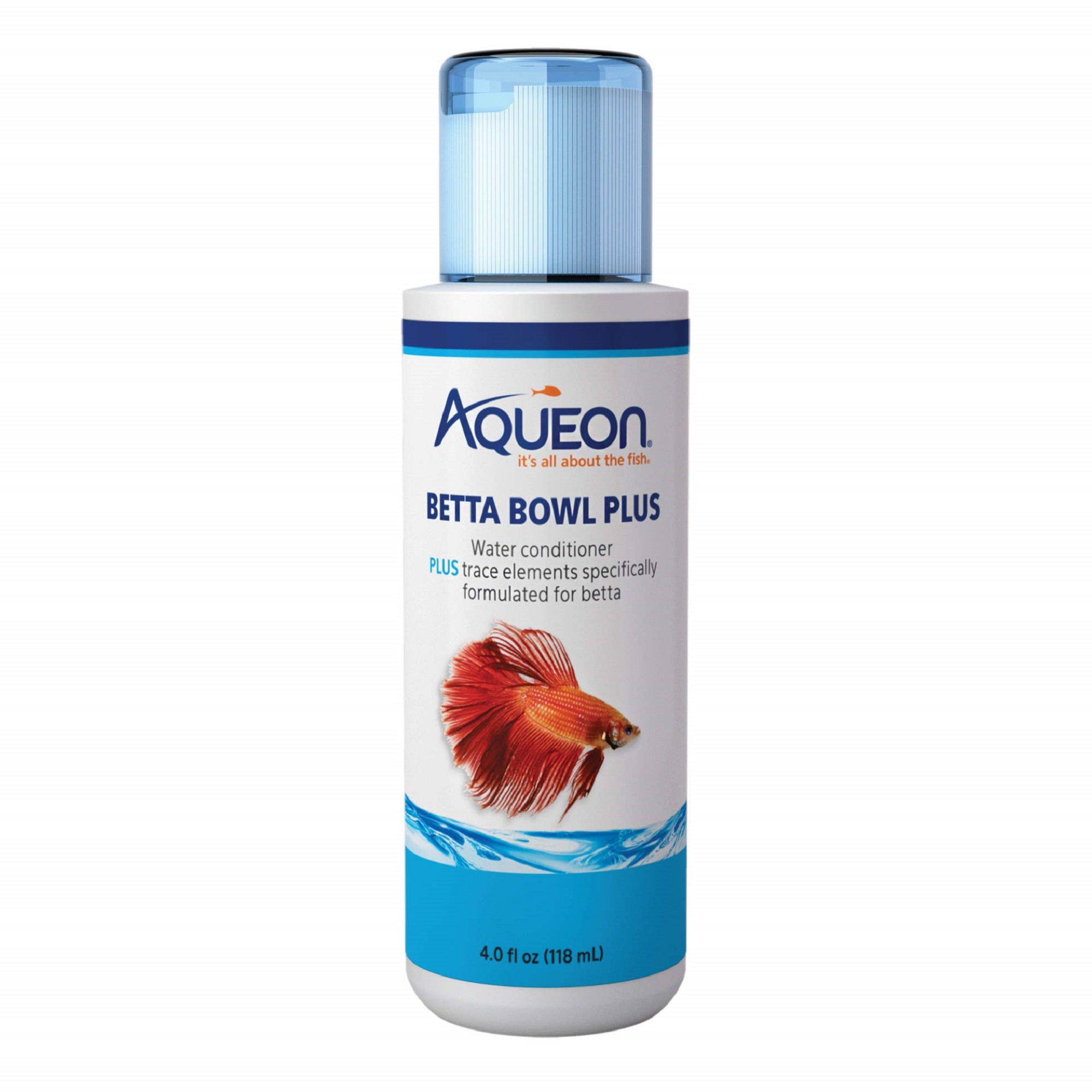 Aqueon Betta Bowl Plus Water Conditioner & Dechlorinator