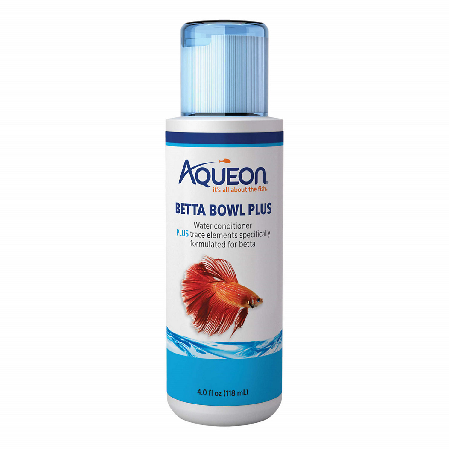 Aqueon Betta Bowl Plus Water Conditioner Dechlorinator