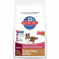 Hill's Science Diet Advanced Fitness Lamb Meal & Rice Adult Dog Food