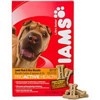 Iams Lamb Meal & Rice Formula Adult Dog Biscuits