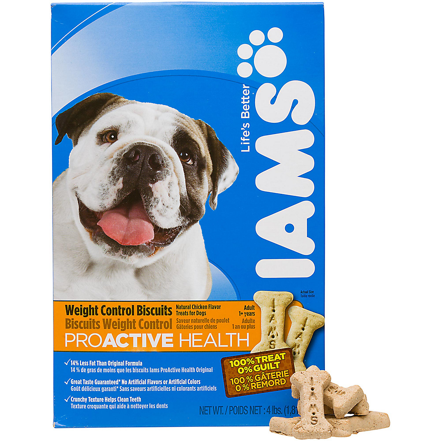 Iams Proactive Health Puppy Biscuits Dog Treats