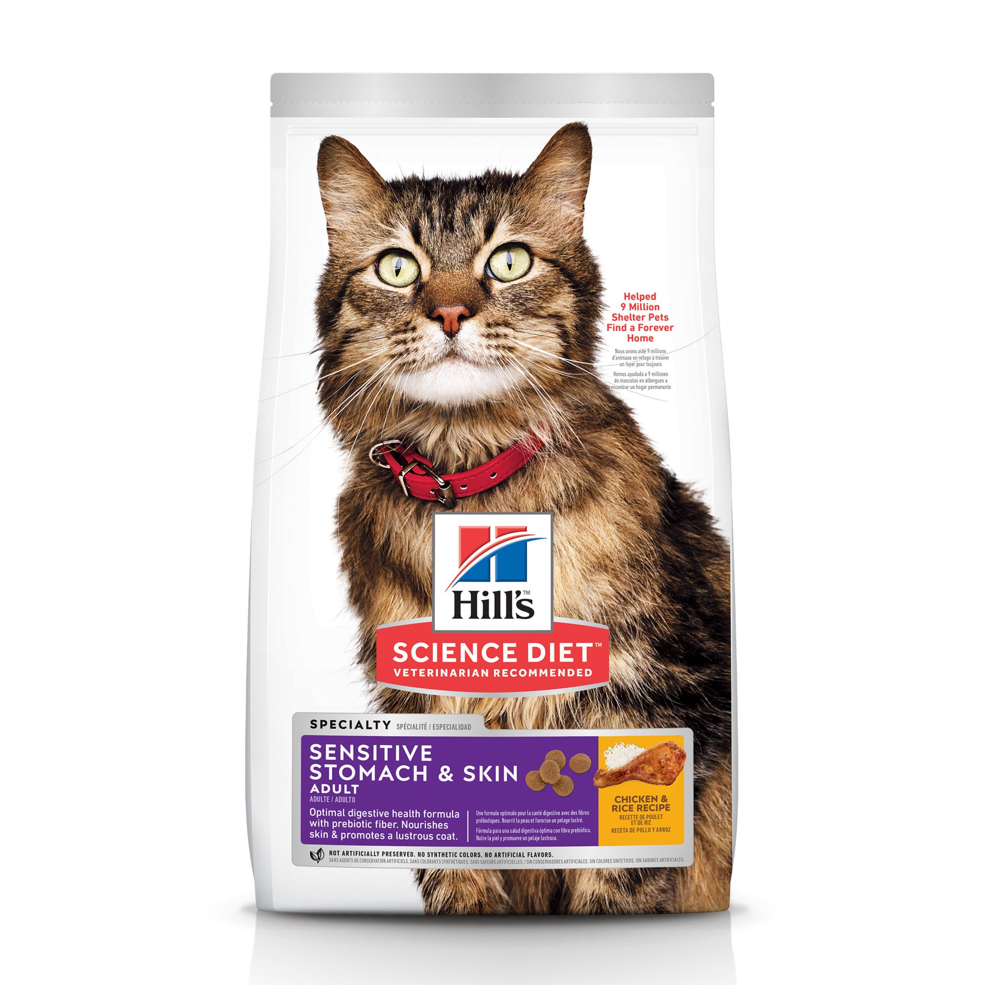 Hill's Science Diet Sensitive Stomach & Skin Adult Cat Food