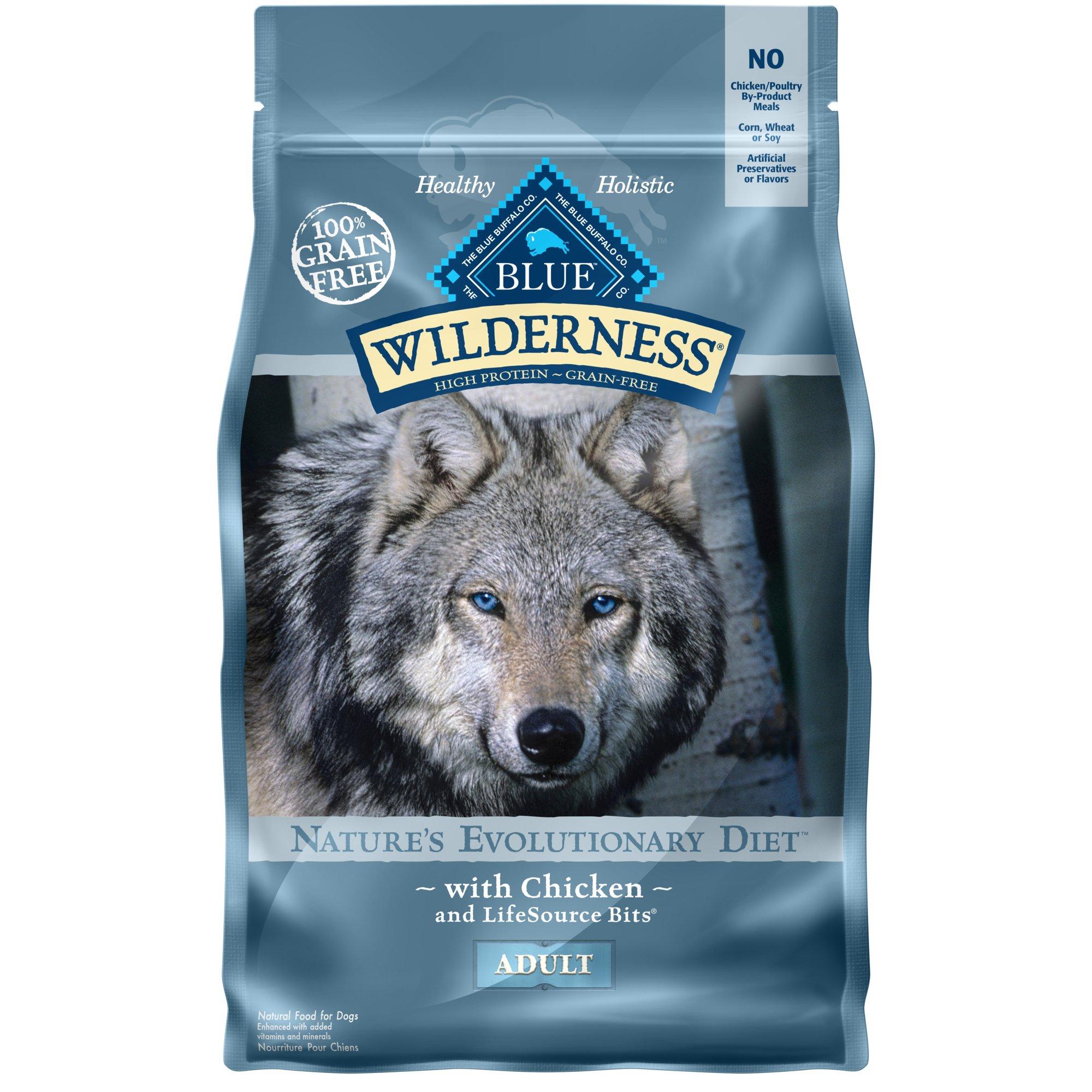 Blue Buffalo Wilderness Chicken Adult Dry Dog Food | Petco