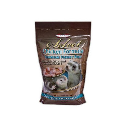 Marshall Pet Products Select Chicken Formula Premium Ferret Diet
