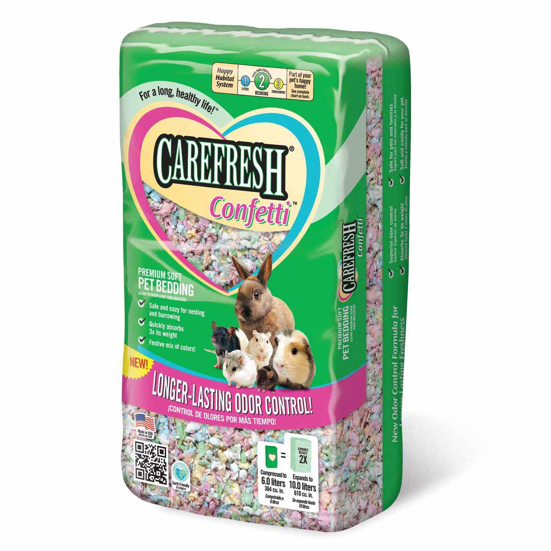 Carefresh Confetti Soft Pet Bedding