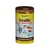 Tetra 3 in 1 TetraMin Tropical Select-A-Food Tropical Fish Food