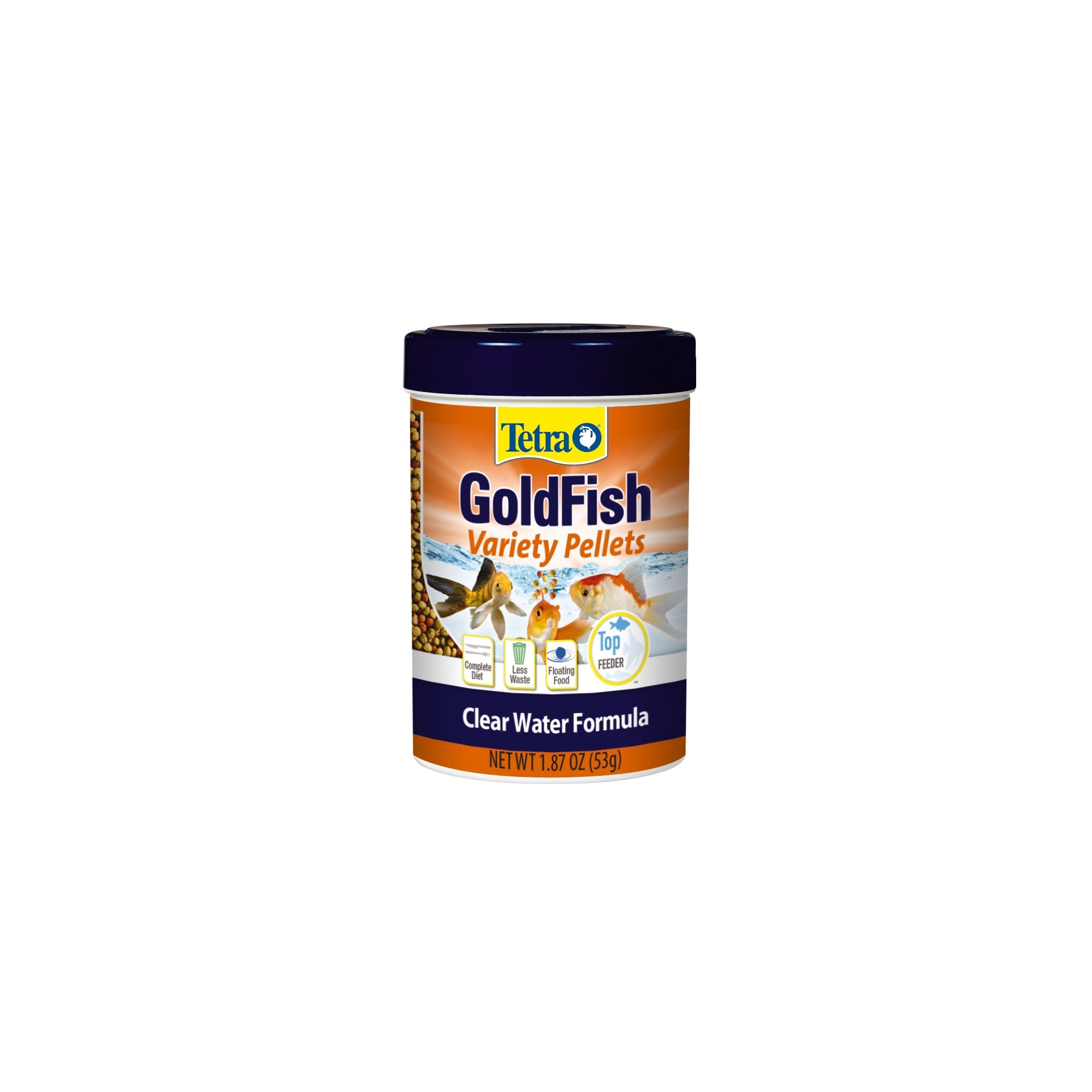 TetraFin Floating Variety Pellets Goldfish Food