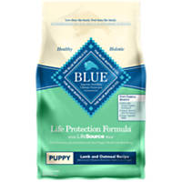 Blue Buffalo Natural Lamb & Oatmeal Puppy Food