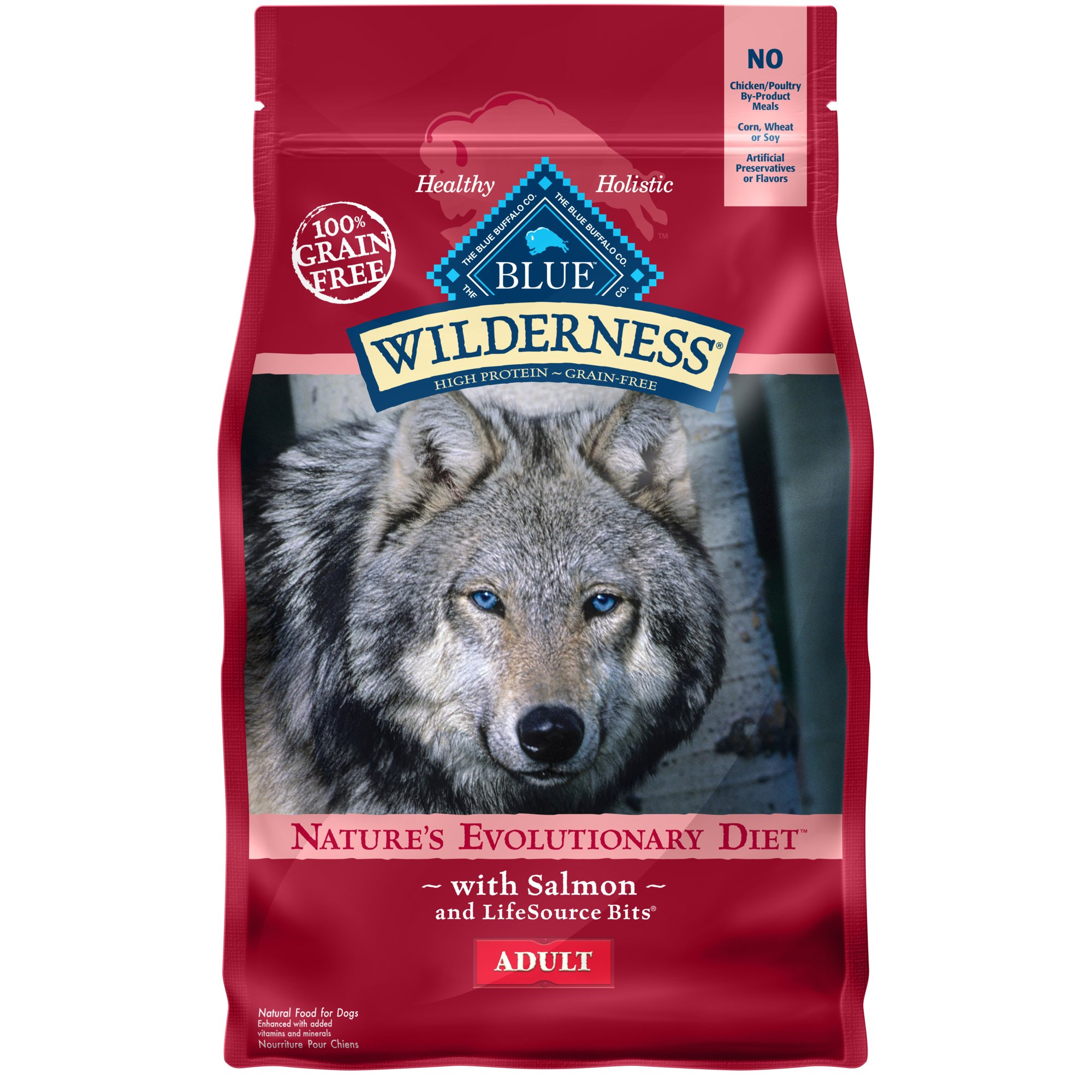 Blue Buffalo Wilderness Salmon Adult Dry Dog Food