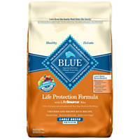 Blue Buffalo Chicken & Brown Rice Large Breed Senior Dry Dog Food