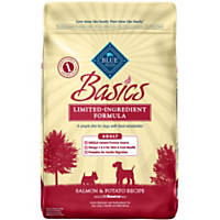 Blue Buffalo Basics Limited Ingredient Formula Salmon & Potato Adult Dry Dog Food