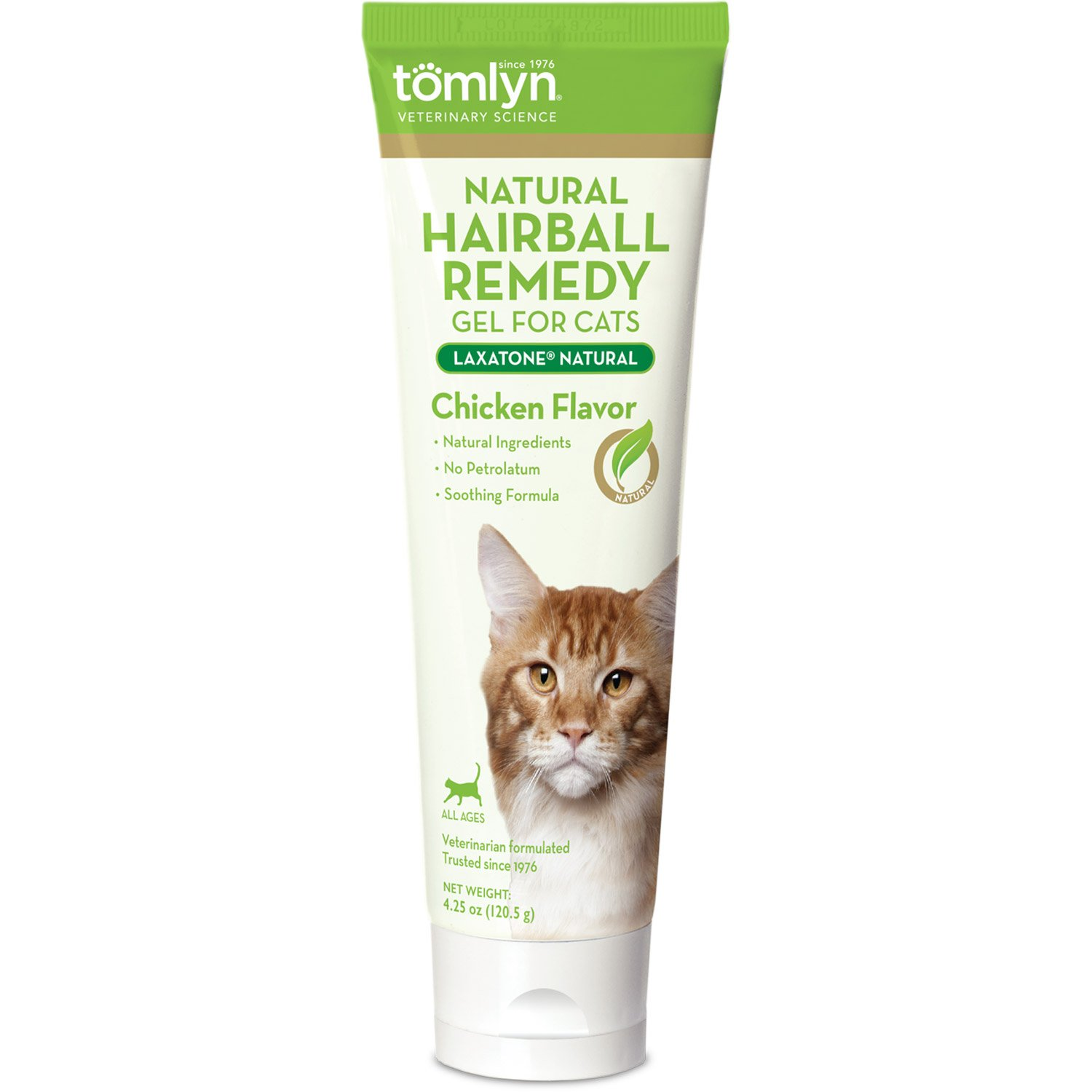 Tomlyn Natural Laxatone Cat Hairball Eliminator