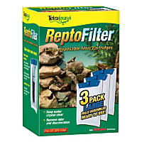 Tetra ReptoFilter Disposable Filter Cartridges 3-Pack