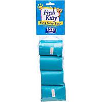 Fresh Kitty Cat Litter Box Organizer Waste Scoop Bag Refills