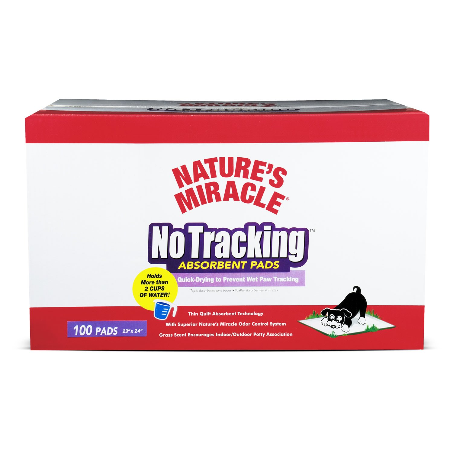 Nature's Miracle No Tracking Absorbent Housebreaking Pads