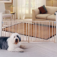 North States Extra Wide Swing Pet Gate