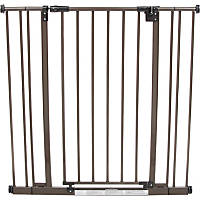North States Extra Tall Easy-Close Pet Gate in Bronze