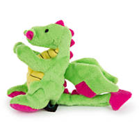 goDog Mini Plush Dragon Dog Toy