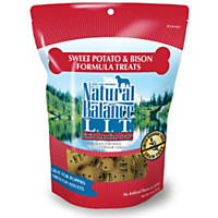 Natural Balance L.I.T. Limited Ingredient Treats Sweet Potato & Bison Formula Dog Treats