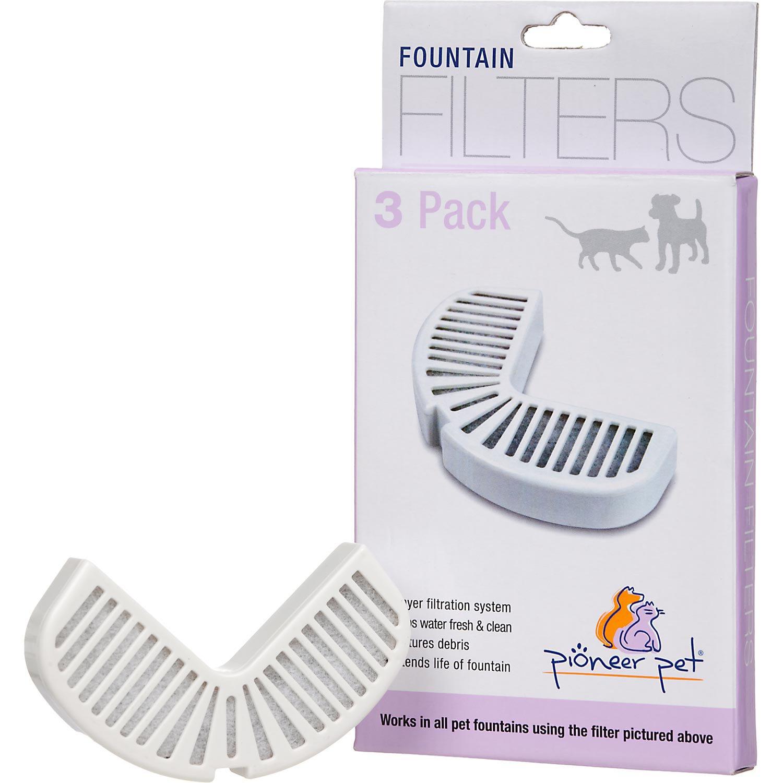 Pioneer Pet Raindrop Pet Fountain Replacement Filters
