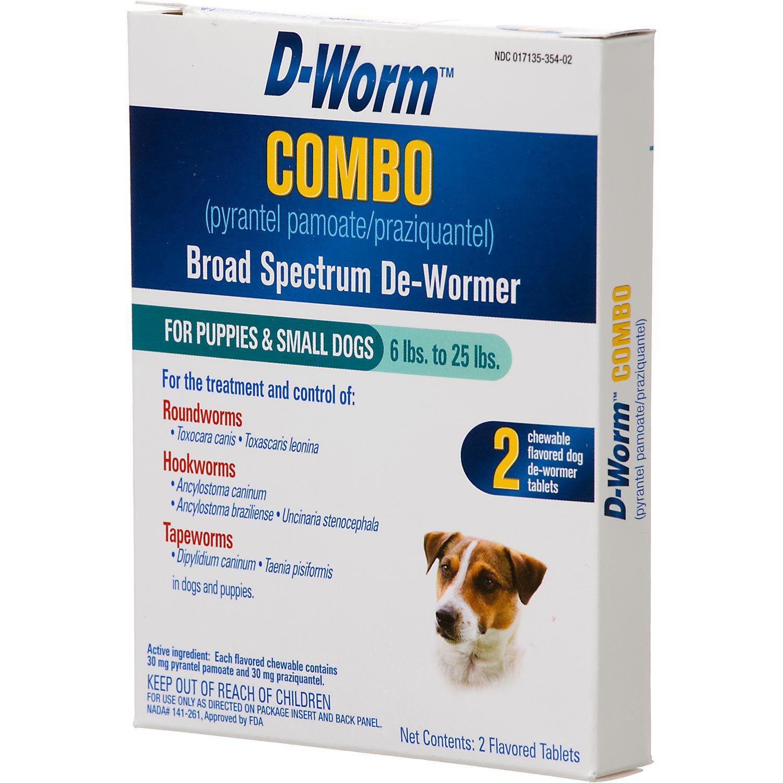 D-Worm Combo Broad Spectrum Puppy & Dog De-Wormer
