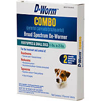 D-Worm Combo Broad Spectrum Puppy & Dog De-Wormer