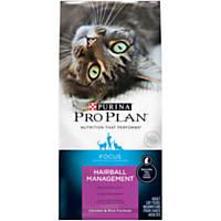 Purina Pro Plan Focus Adult Hairball Management Chicken & Rice Formula Cat Food