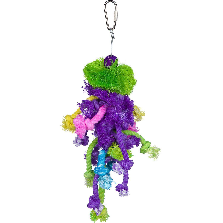 Prevue Hendryx Calypso Creations Braided Bunch Bird Toy