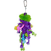 Prevue Hendryx Calypso Creations Braided Bunch Bird Toy