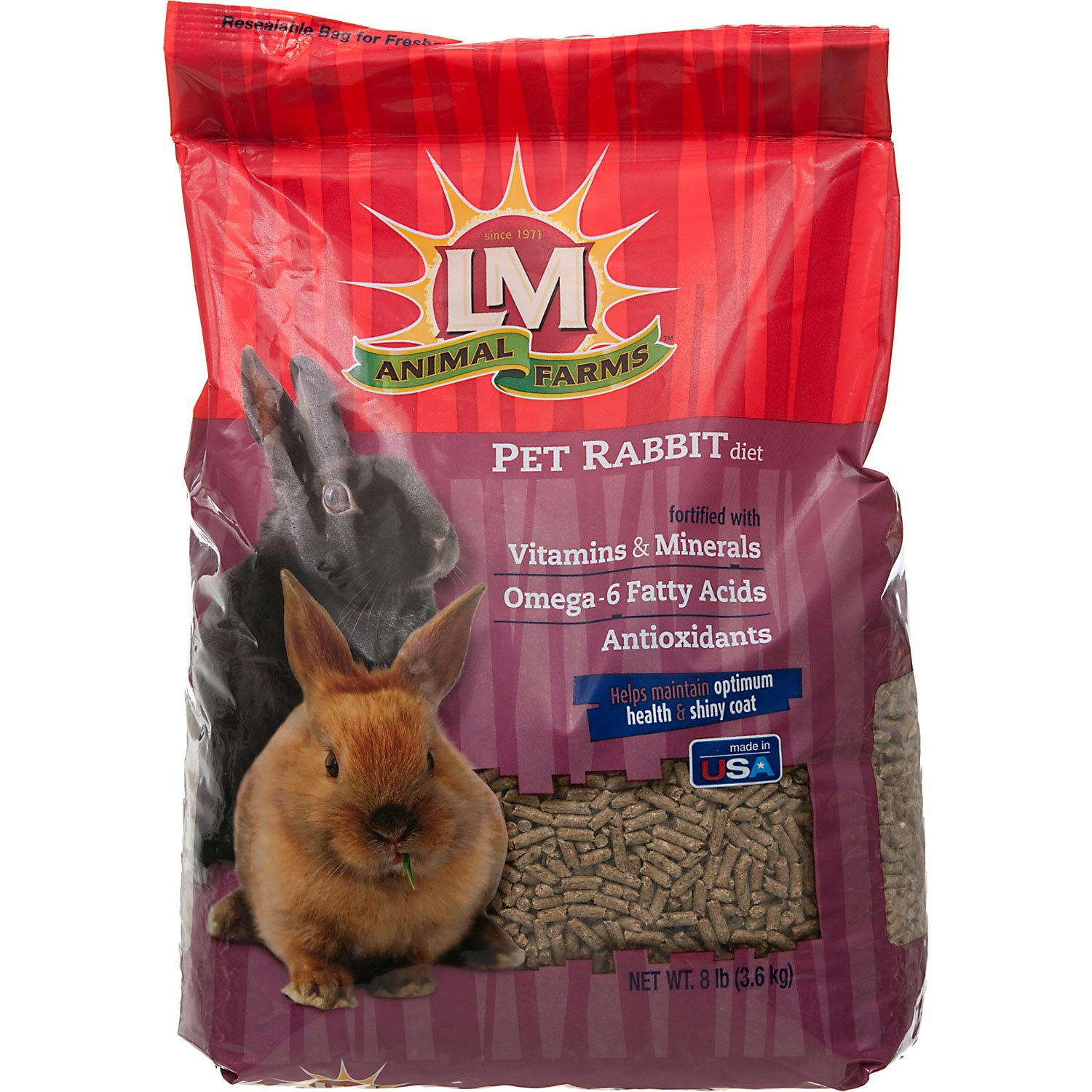 LM Animal Farms Rabbit Food
